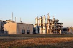 Planta del etanol Fotos de archivo