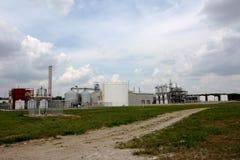 Planta del etanol Foto de archivo libre de regalías
