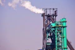 Planta del hierro y siderúrgica Imagen de archivo