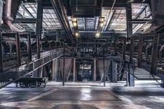 Planta del horno de coque de Zeche Zollverein interior Fotografía de archivo libre de regalías
