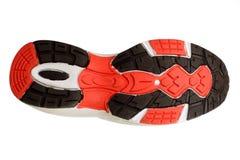 Planta del pie de un zapato del deporte Imagen de archivo libre de regalías