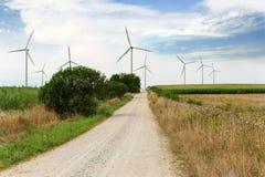 Planta do moinho de vento Fotografia de Stock