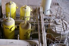 Planta do tratamento da água Imagens de Stock Royalty Free
