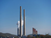 Planta do vapor de TVA em Kingston Tennessee, EUA. Foto de Stock