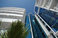 Planta e hotel Imagens de Stock