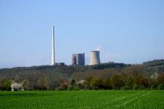 Planta encendida carbón del poder Foto de archivo