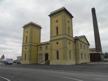 A planta hidrodinâmica velha de Trieste Fotos de Stock