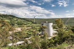 Planta hidroelétrico conduzida Fotos de Stock