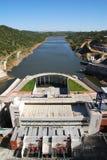 Planta Hydroelectric Fotos de Stock Royalty Free