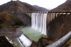 Planta Hydroelectric imagem de stock