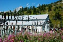 Planta Hydroelectric imagem de stock royalty free