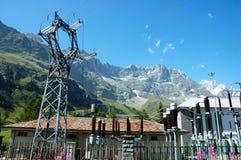 Planta Hydroelectric fotografia de stock royalty free
