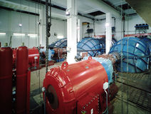 Planta Hydroelectric foto de stock royalty free
