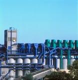 Planta industrial foto de stock