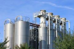 Planta industrial Fotos de Stock