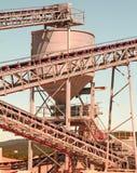 Planta industrial Imagen de archivo libre de regalías