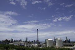 Planta industrial Imagem de Stock