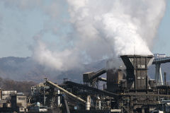 Planta industrial Foto de archivo