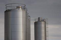 Planta industrial Imagens de Stock Royalty Free