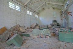 Planta industrial arruinada vieja abandonada Fotografía de archivo libre de regalías