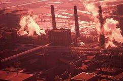 Planta industrial, E. St. Louis, MES fotografía de archivo libre de regalías