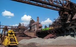 Planta metalúrgica industrial Imagem de Stock