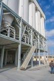 Planta para a produção de massas cerâmicas Foto de Stock