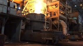 Planta para a produção de metal imagem de stock