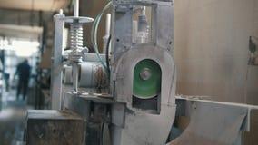 Planta para produzir as hastes de fibra de vidro - fabricação de reforço composto - fibra de vidro nos carretéis filme