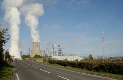 Planta petroquímica de Grangemouth fotos de archivo