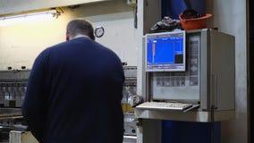 Planta Producción de la ingeniería almacen de metraje de vídeo