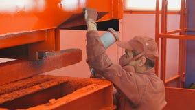 Planta Producción de la ingeniería metrajes