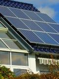 Planta solar imagem de stock