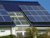 Planta solar imagens de stock royalty free