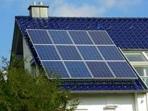 Planta solar fotografia de stock royalty free
