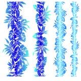 Planta tropical stock de ilustración
