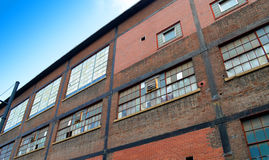 A planta velha de Bethlehem Steel Imagem de Stock Royalty Free