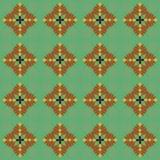 Plantaardig decoratief patroon Royalty-vrije Stock Foto's