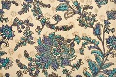 Plantaardig decoratief patroon in Indische stijl Royalty-vrije Stock Fotografie