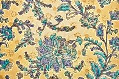 Plantaardig decoratief patroon in Indische stijl Royalty-vrije Stock Afbeeldingen