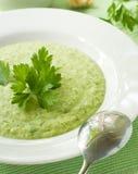 Plantaardig; e soep stock afbeelding