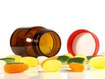 Plantaardig Vitaminenconcept - Gezonde Voeding stock fotografie