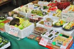 Plantaardige groenten in het zuur royalty-vrije stock foto's
