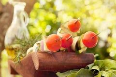 Plantaardige kebab Stock Foto