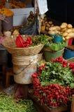 Plantaardige Markt Royalty-vrije Stock Fotografie
