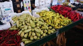 Plantaardige markt stock afbeeldingen