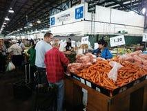 Plantaardige markt Royalty-vrije Stock Foto's
