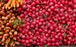 Plantaardige markt Royalty-vrije Stock Foto
