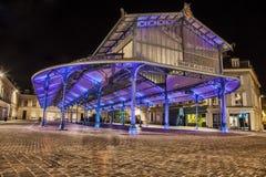 Plantaardige Markt in Chartres, Frankrijk Royalty-vrije Stock Foto's
