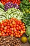 Plantaardige markt. India Stock Fotografie